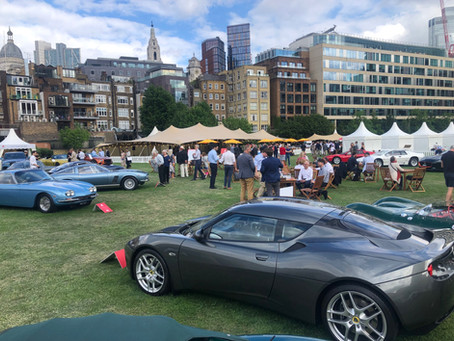 London Concours 2021 - Unipower GT 766.2 - We had a Royal Visit !