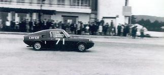 Adalberto Medeiros in the Cafer garage c