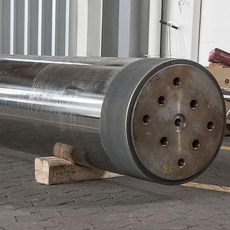 Kolbenstange, laserbeschichtet