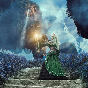 gothic_princess_in_a_falling_world_by_e_