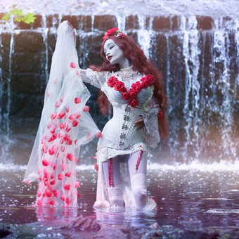 gothic_princess___waterfall_by_e_a_photo