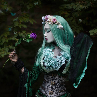 gothic_princess_and_butterflies_by_e_a_p