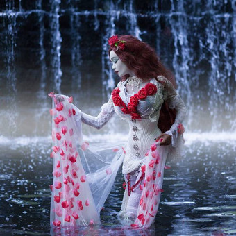 gothic_princess___waterfall_1_by_e_a_pho