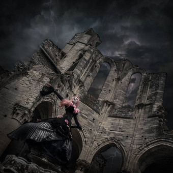 gothic_princess_in_ruins_by_a_stormy_nig