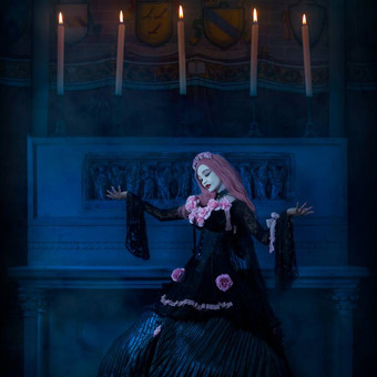 gothic_princess_in_an_esoteric_church_by