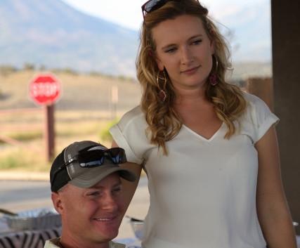 Steve Mock and Alexandra ( Alex ) Lidget