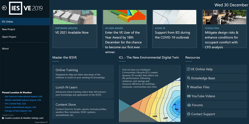 Introduction to IESVE Simulation