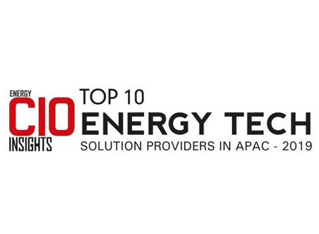 We are in Top10 Energy Tech Providers APAC Listing!