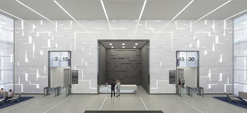 123 N. Wacker Drive - Conceptual Lobby R