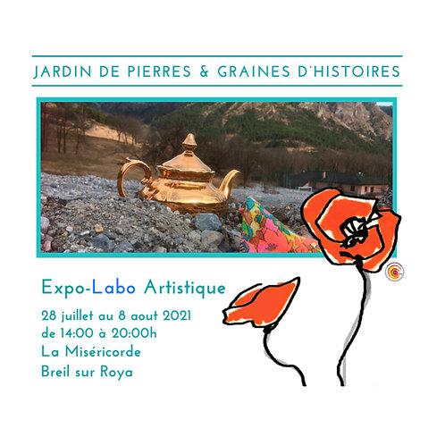 Expo-Labo Jardin de Pierres