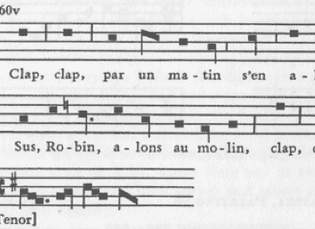 "The Pope's ""Pornography"": ""Popular"" (?) Music from 14th Century France: Part"