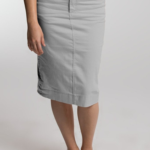 Jupe de Abby Modest Colored Denim Skirts