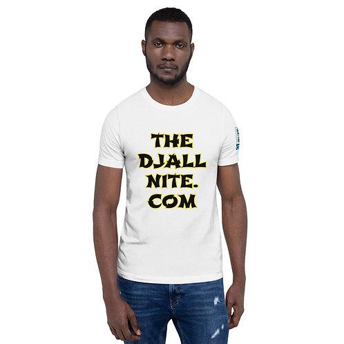 THEDJAllnite.com Short-Sleeve Unisex T-Shirt