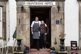 cLARE AND JOE FRONT Colintraive Hotel 20