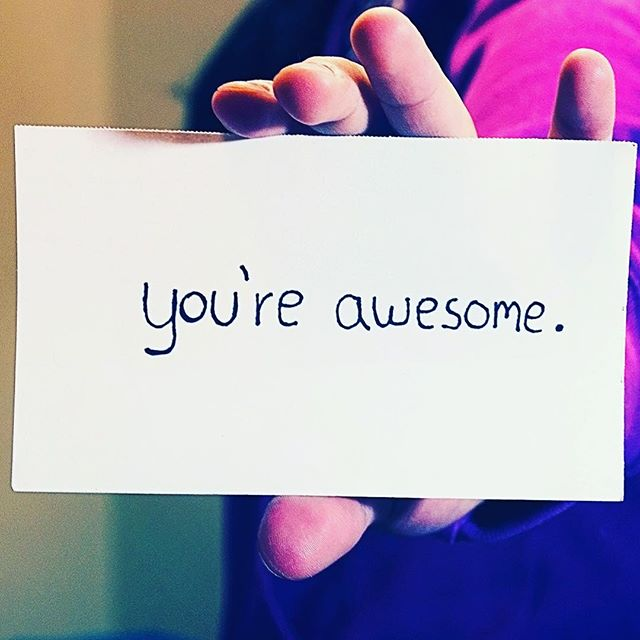 You're Awesomecl