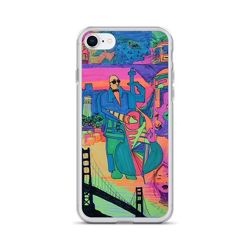 """A Nick Larson Original """"The Beauty of SF"""" iPhone Case"""