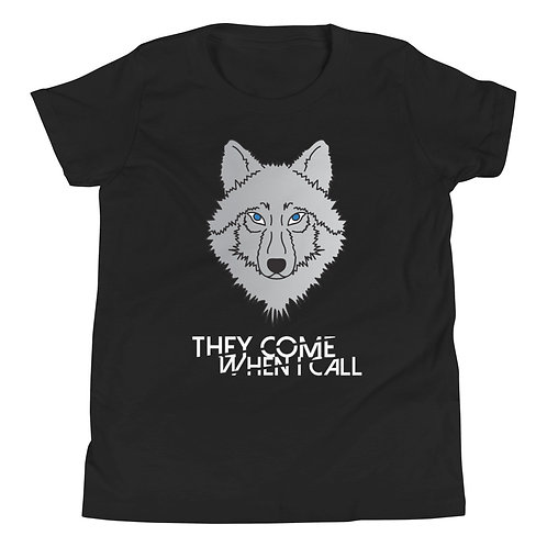 Wolf Pack Kids Youth Short Sleeve T-Shirt