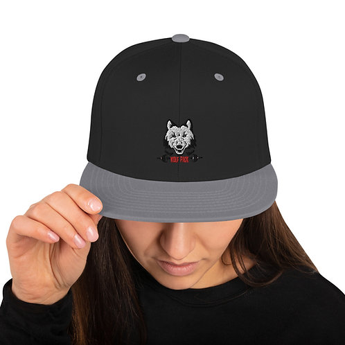 Adult Wolf Pack Snapback Hat