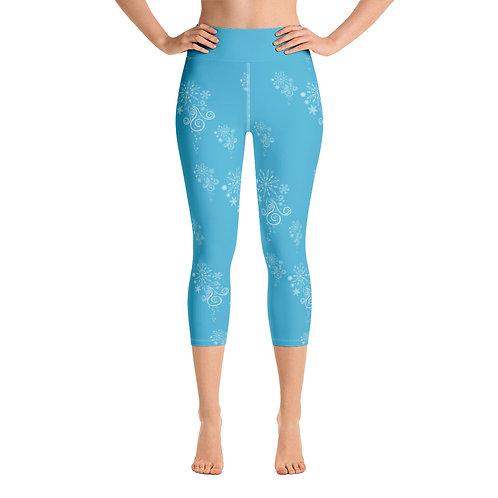 Flurry Yoga Capri Leggings