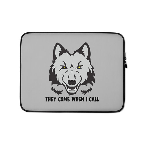 Adult Wolf Pack Laptop Sleeve