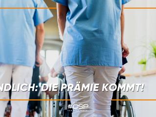 Prämie für Personal der Pflegeheime