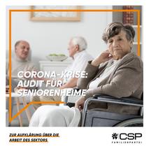 Wir fordern Audit für Seniorenheime ☝️