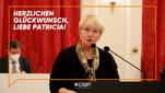 Patricia Creutz-Vilvoye (CSP) wird zur Präsidentin des Benelux-Parlaments ernannt