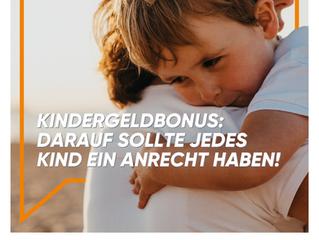 """""""Kindergeldbonus: Alle Familien brauchen Unterstützung während der Krise!"""""""