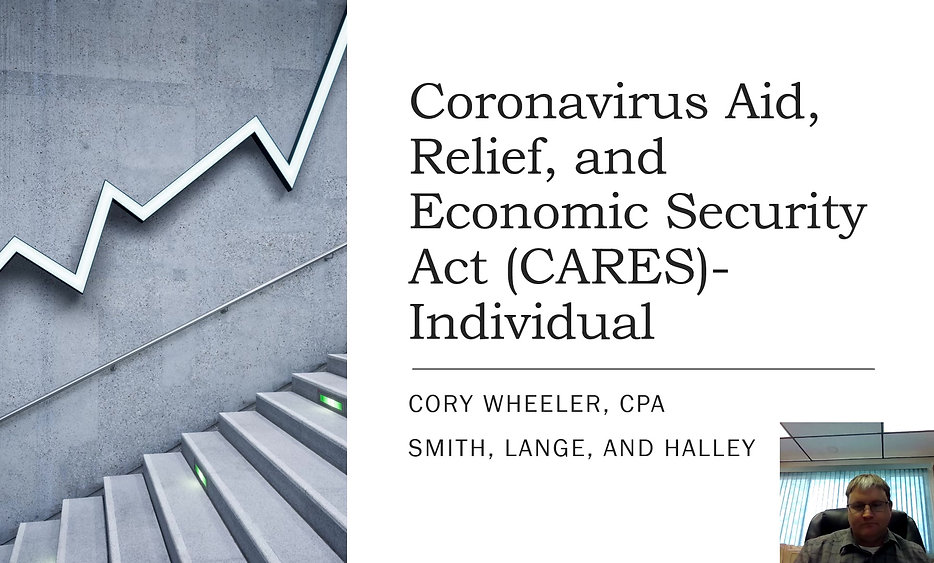 CARES Act for Individuals