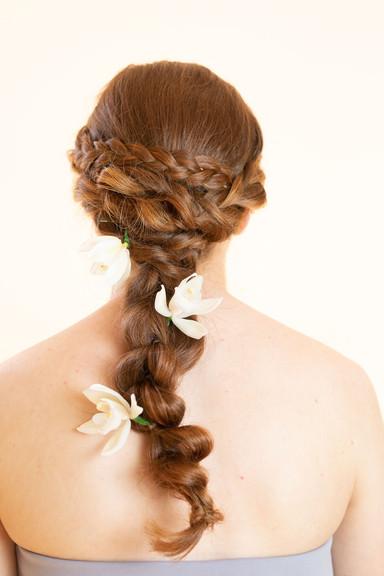 Formal, wedding Hair