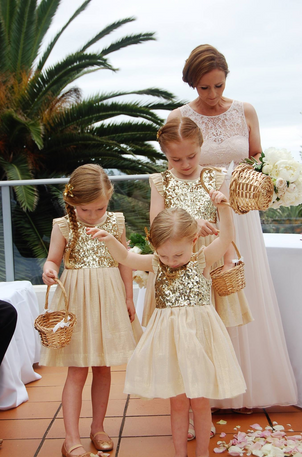 Flower girls , Novotel Wollongong