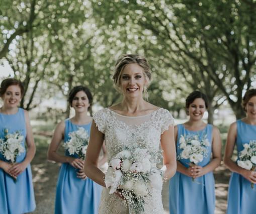 Michaela, bridesmaids , Burrawang