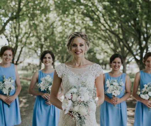 Michaela, bridesmaids , Burrawang