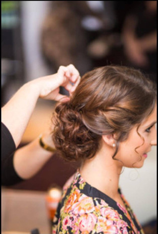 Gerringong, bridal hair