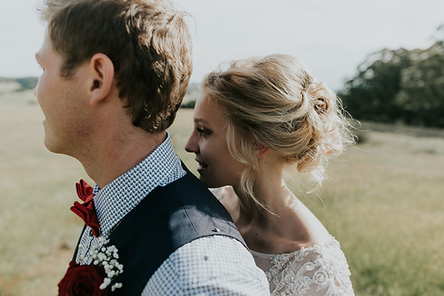 Wildes Meadow wedding hair and Makeup