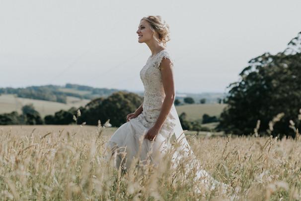 Exeter, wedding hair