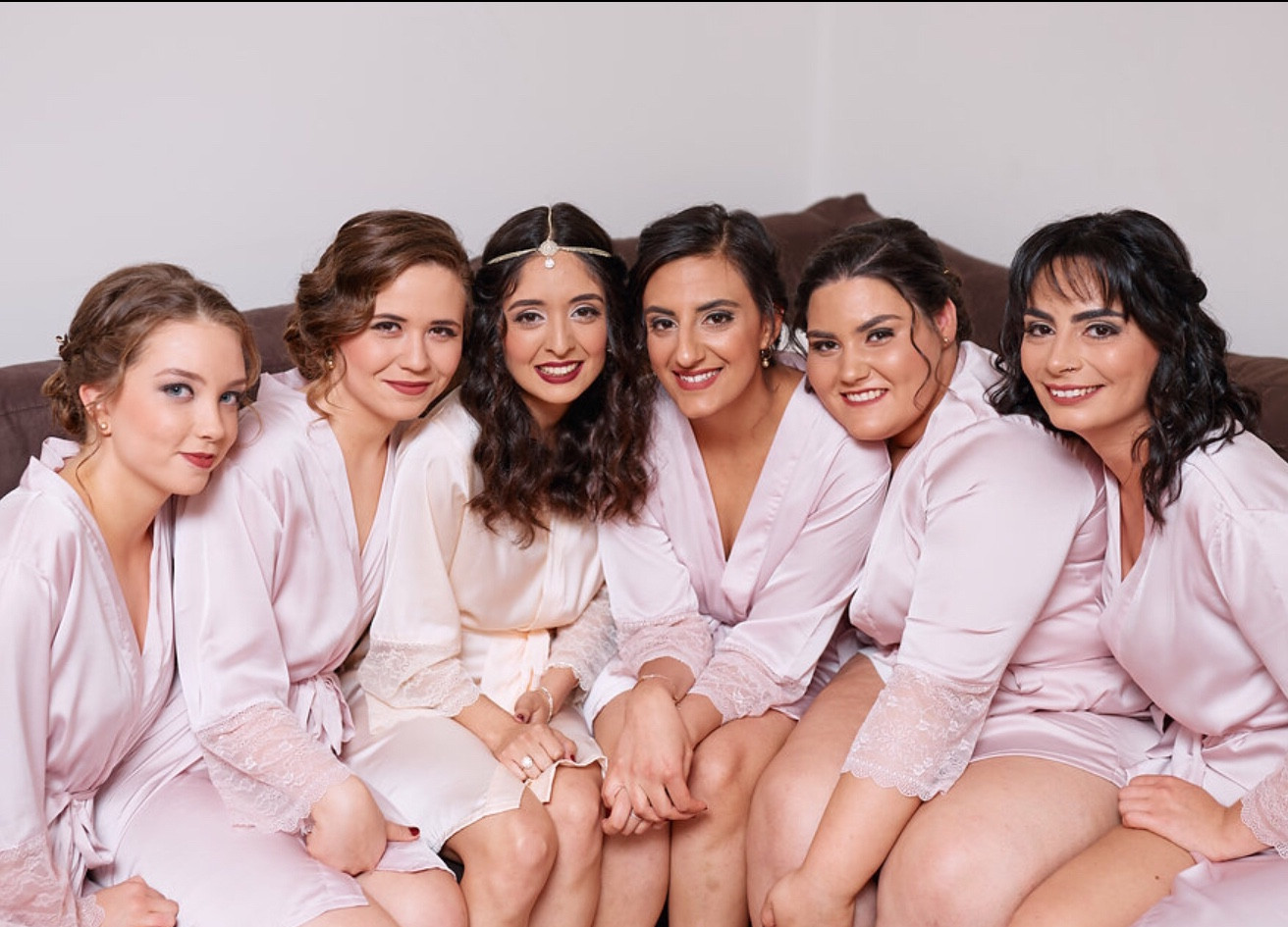upstyles for the bridal party
