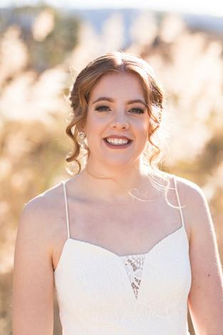 Bridal hair , wedding hair