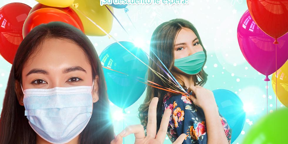 Balloons-Party 🎈 de Navidad 🎄 con mini-facial de cortesía 🎁 2020