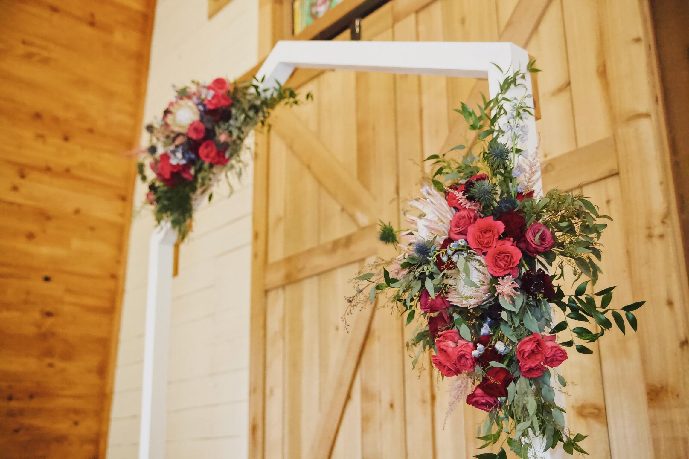 Modern Ceremony Arch Rental