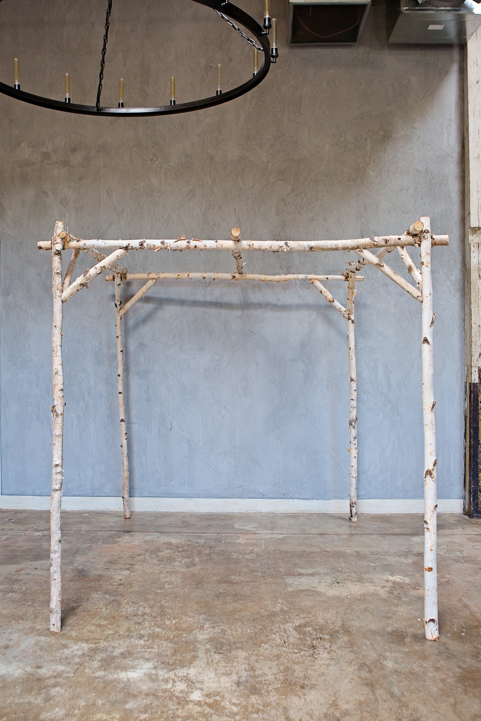 Rustic Ceremony Structure Rental