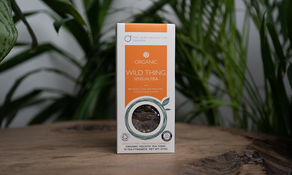 Organic Wild Thing Sensualitea (Indulge & Connect)
