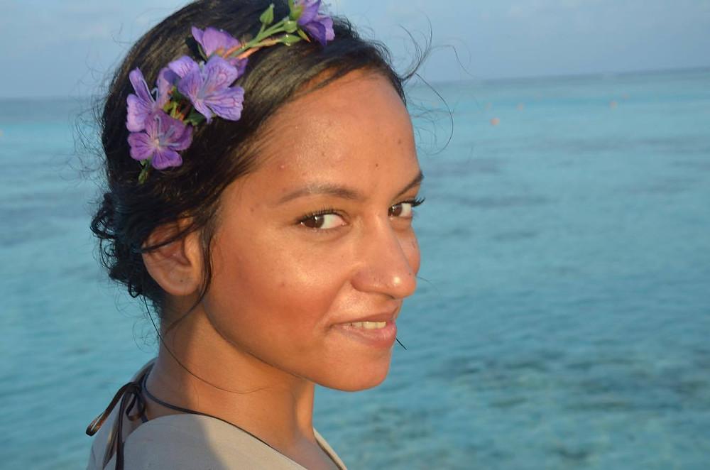Angelique in The Maldives