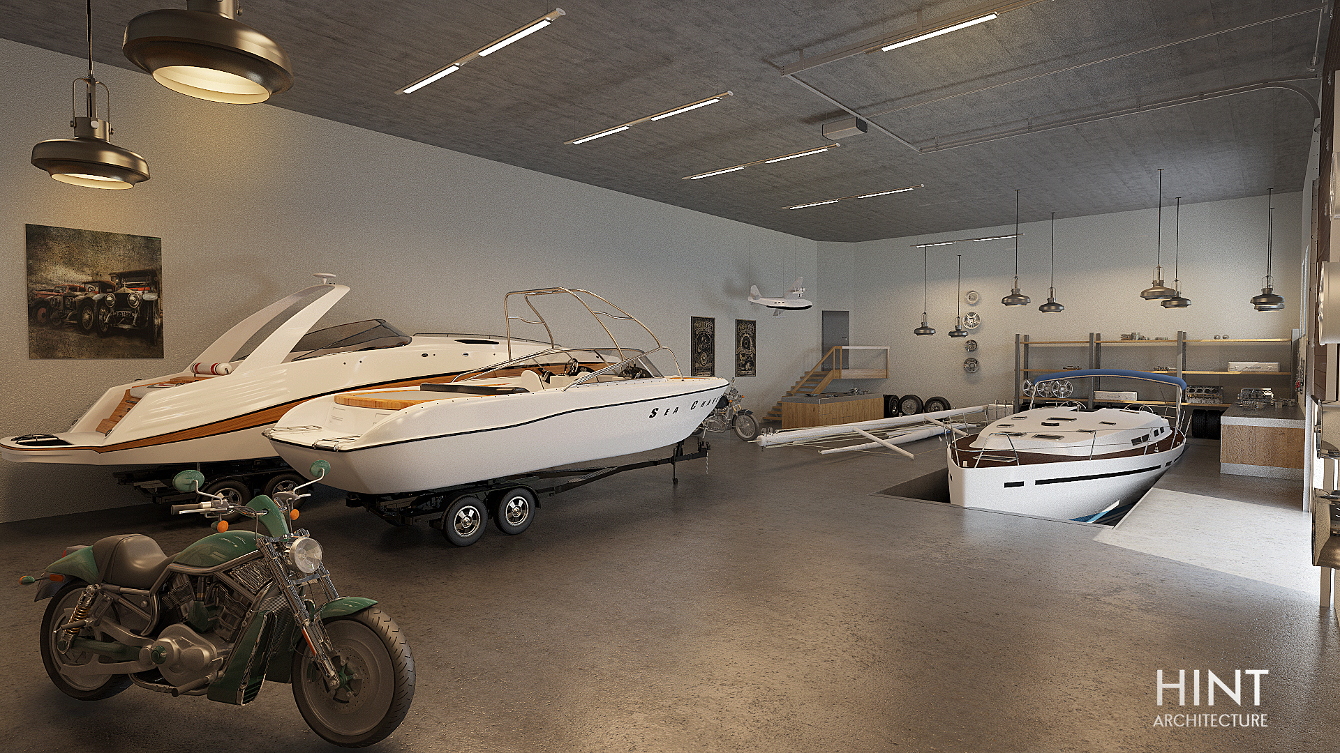 The yacht room