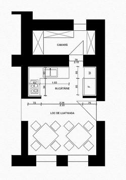Small Kitchen Plan