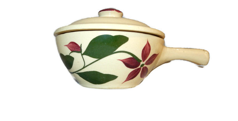 Watt Starflower Covered Individual Casserole