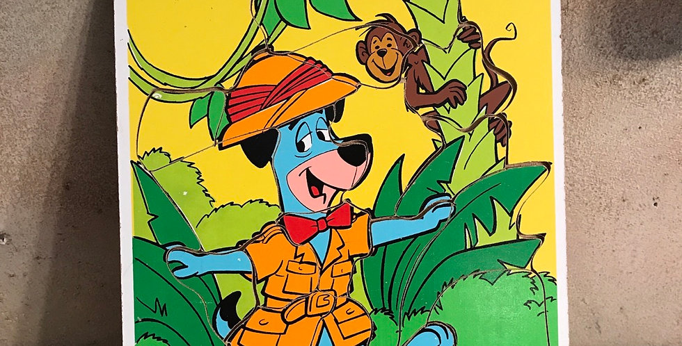 Playskool Huckleberry Hound Puzzle