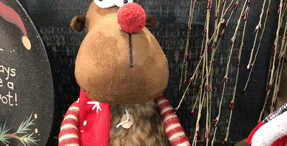 Crazy Reindeer with Fur Vest