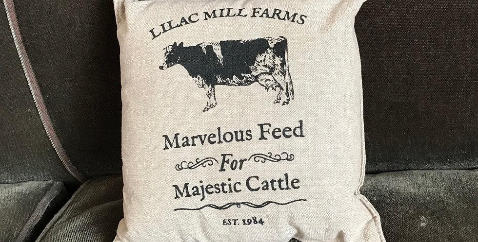 Majestic Cattle Decorative Pillow