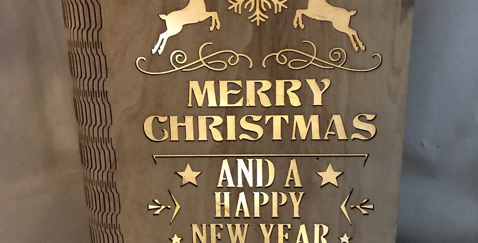 Merry Christmas Lighted Book